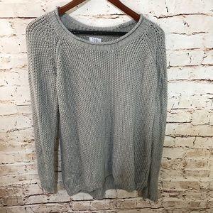 Tobi Waffle Knit Oversized Sweater